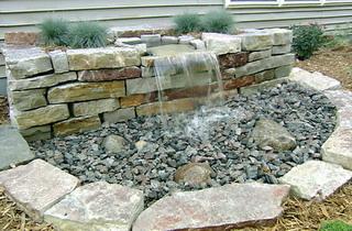 Камень для фонтана своими руками