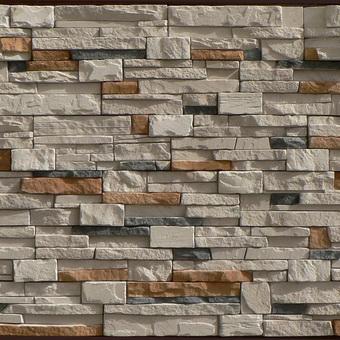 Стена из натурального камня