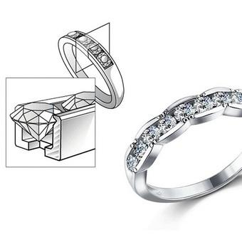 b5f37573dbe6 К числу лучших подарков с бриллиантом принадлежит украшение, в котором  драгоценные камни закреплены по системе Pave. Она представляет собой  поверхность, ...